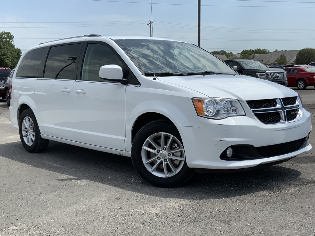 Pre Owned 2019 Dodge Grand Caravan Sxt 4d Passenger Van In Owasso D61083 Jim Glover Auto Family