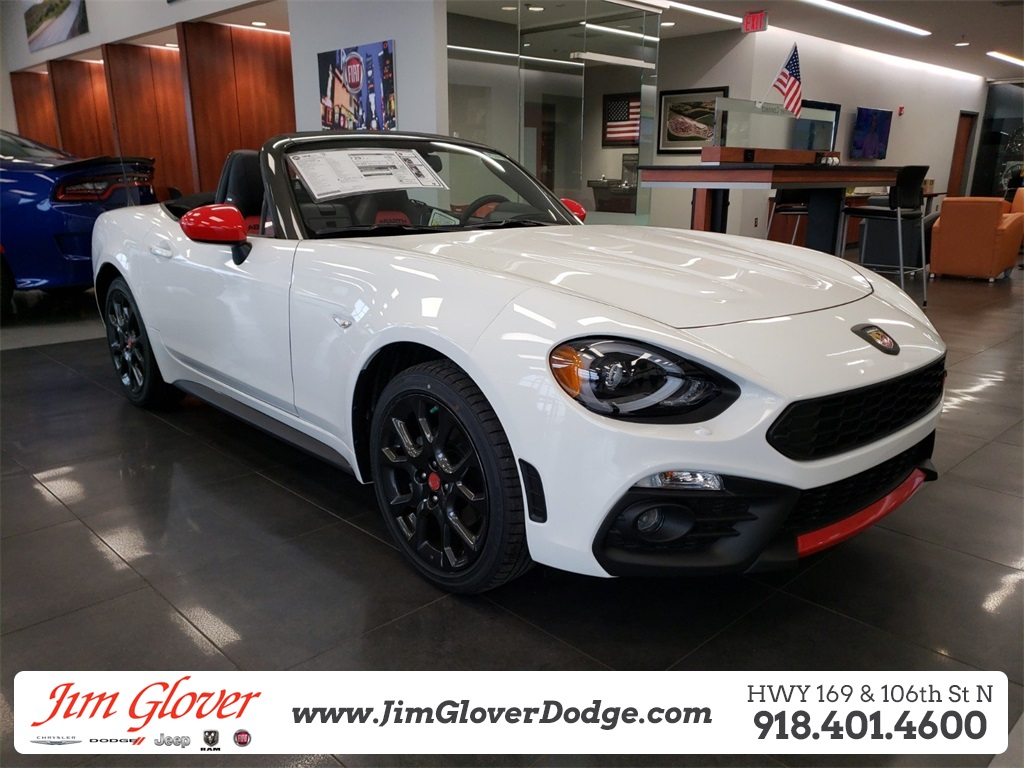 New 2019 Fiat 124 Spider Abarth 2d Convertible In Owasso Dc1329