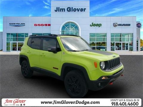 Pre-Owned 2018 Jeep Renegade Trailhawk